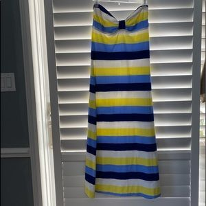 tommy bahama long sleeveless dress